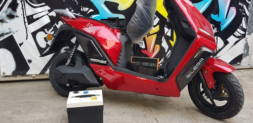 Scooter  Electrica Gilera Eg2 0km Litio Motor Bosch  Al 30/4