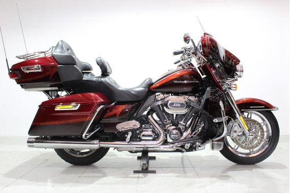 Harley Davidson Cvo Limited 2014 Vermelha