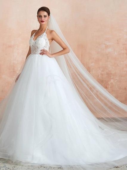 Vestido De Novia Disponible Blanco O Ivory Colección 2020