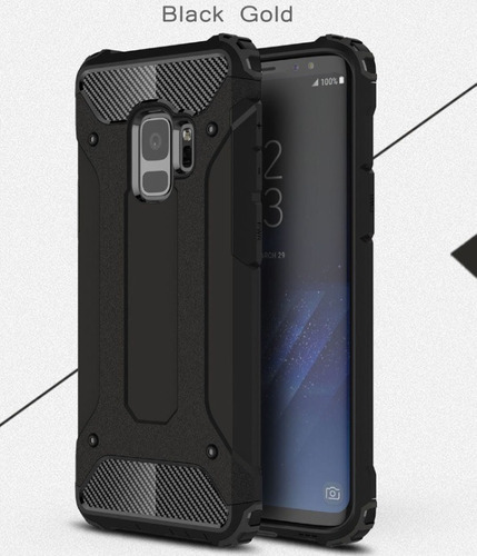 Estuche Case Hybrido Defender Galaxy S9 - S9 Plus Resiste