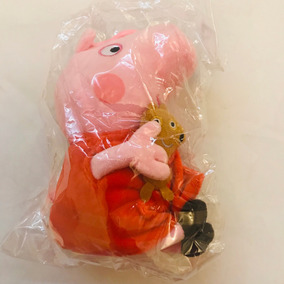 Boneco Pelucia Peppa Pig George Pig Original 19 Cm