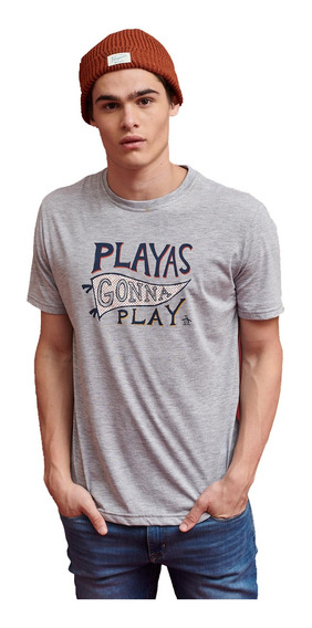 Remera Penguin Ss Playing Gonna 0cnht472080 Hombre 0cnht4720