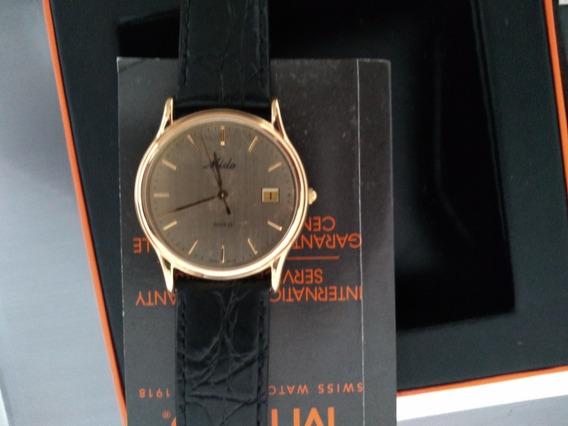 Relógio Mido Masculino Ouro
