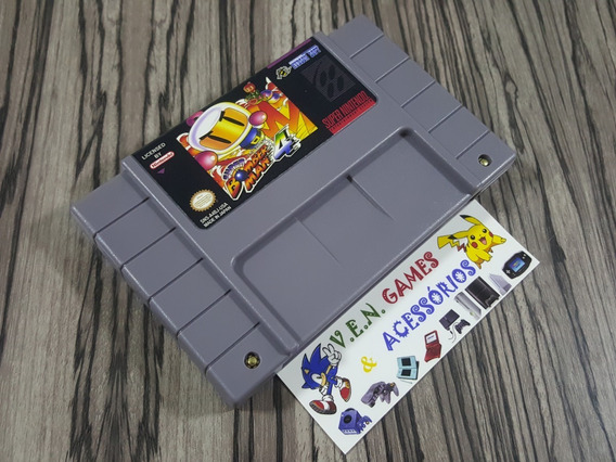 Super Bomberman 4 P/ Super Nintendo + Garantia!!!!