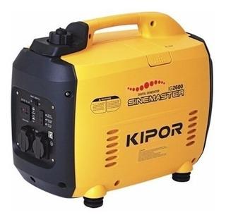 Generador Naftero Monofasico Inverter Kipor Ig 2600i 2.6kva