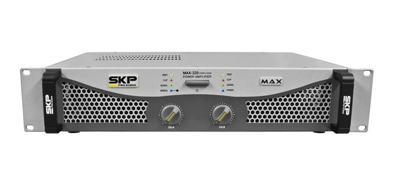 Amplificador De Potência Max-320 Skp