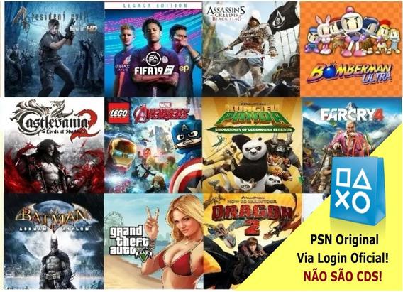 8 Jogos Playstation 3 Psn Midia Digital Escolha Leia Anuncio
