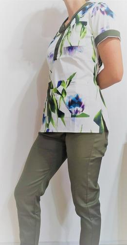 Ambos De Diseño / Colección Estambul Con Verde / Ambos Ambas