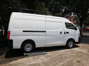 Nissan Urvan Nv350panel Amplia C/aa Y Paq De Seg. Tm 2019