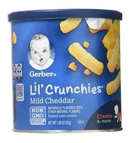 Imagen 1 de 6 de Snack Queso Cheddar Lil Crunchies Para - kg a $381
