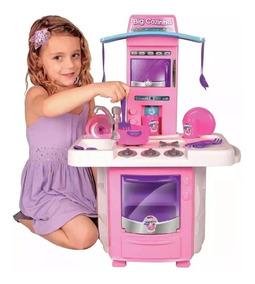 Nova Cozinha Fogao Infantil Big Star - Menina - 01 Unid