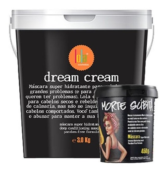 Lola Cosmétics Dream Cream 3kg Máscara Morte Súbita