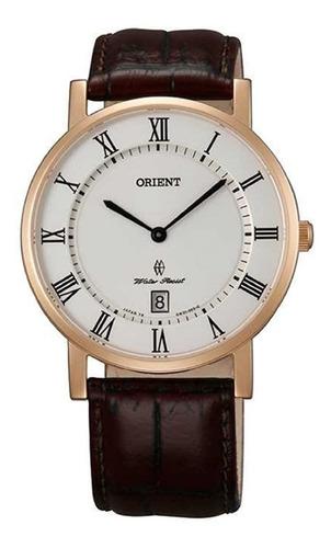 Reloj Hombre Orient Fgw0100ew0 Extraplano Zafirado Japón