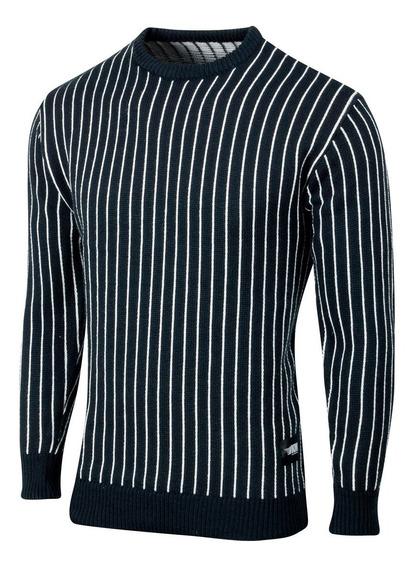 Sweater Manchester, Rayado, Vintage, De Hombre, Valkymia