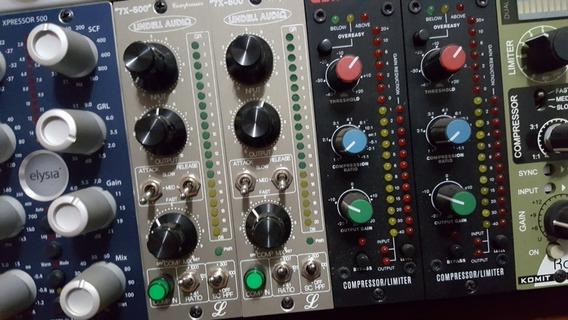 Par De Compressor Lindell Audio 7x 500, Api, Neve, Dbx, Jbl