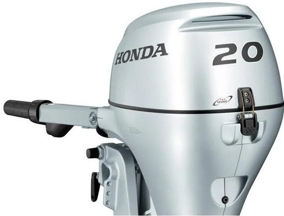 Honda Bf 20 Hp Pata Larga Arr. Electrico Fuera De Borda