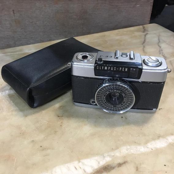 Câmera Fotográfica Antiga Olympus-pen Ee-3 Analógica 022