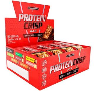Barra Protein Crisp 12 Unidades - Caixa - Integralmédica