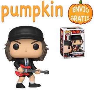 Angus Young Funko Pop Ac Dc Guitarrista Ac Dc