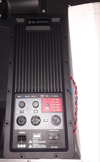 Amplificador Digital Dos Vias Para Empotrar Blastking Leer