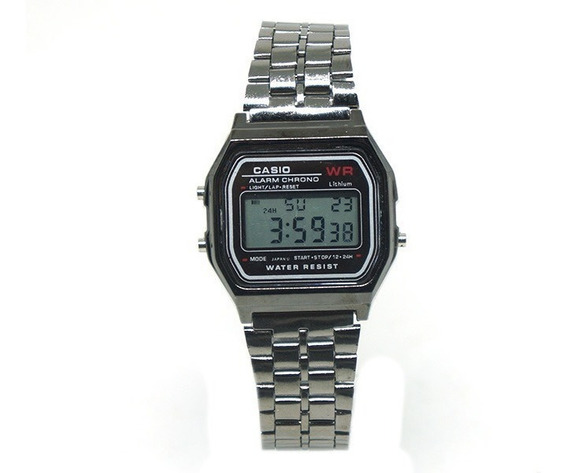 Relógio Digital Casio Grafite Importado Preço Imperdivel