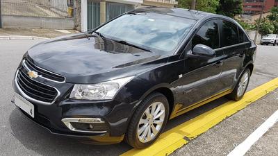 Cruze Lt 1.8 16v Flex 2015 Preto 4p Aut. Unico Dono 42.500km