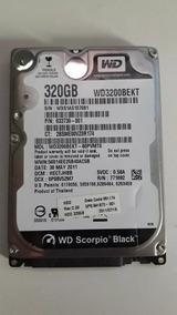 Hd Western Digital 320gb Wd3200bekt Scorpio Black 7200rpm