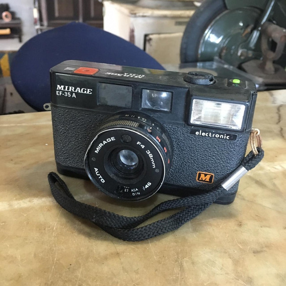Câmera Fotográfica Antiga Mirage Ñ Nikon 1513
