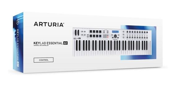Controlador Midi Arturia Keylab Essential 61 + Garantía