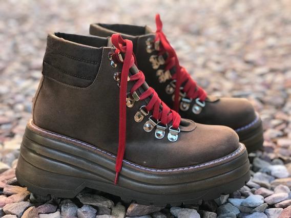 Borcego Mujer Urbano Con Plataforma De Lisa Shoes