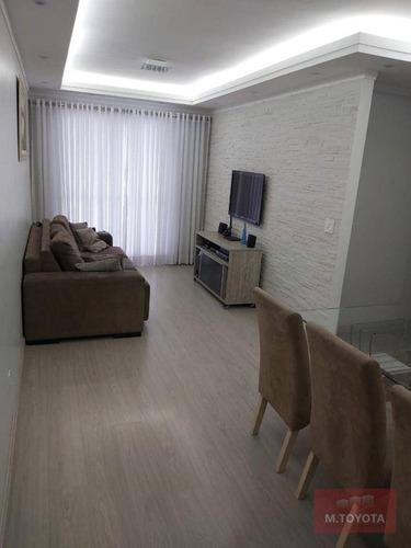 Imagem 1 de 30 de Apartamento Com 3 Dormitórios À Venda, 77 M² Por R$ 440.000,00 - Jardim Rosa De Franca - Guarulhos/sp - Ap0048