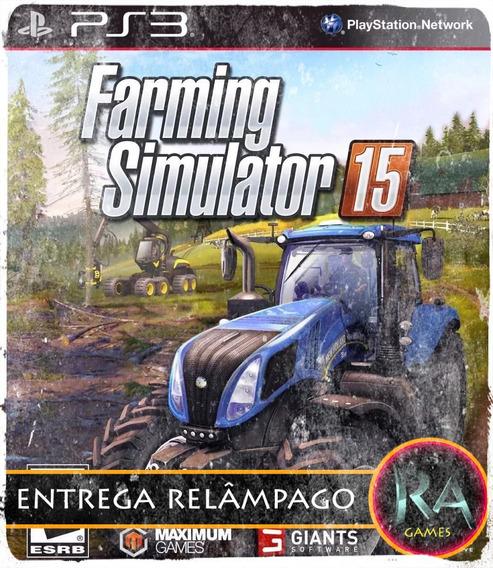 Farming Simulator 15 Ps3 Código Psn Promoção