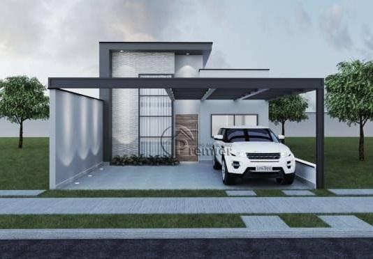 Casa Com 3 Dormitórios À Venda, 115 M² Por R$ 520.000 - Jardim Montreal Residence - Indaiatuba/sp - Ca1858