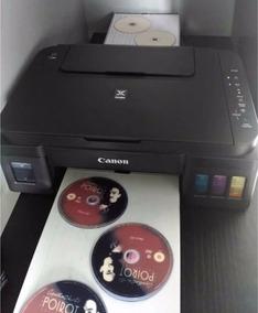 Impressora De 3 Cd Adaptada Canon G3100 Wifi Tanque Tinta