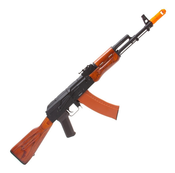 Rifle Airsoft Elétrico Cyma Ak-47 Metal Cm408 6mm - Madeira