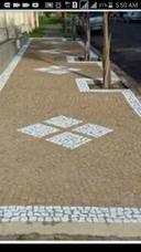 Calçamento Com Pedras Portuguesas Mosaico Todos Tipos De Des
