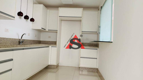 Apartamento Com 3 Dormitórios Para Alugar, 163 M² - V. Madalena - São Paulo/sp - Ap30708