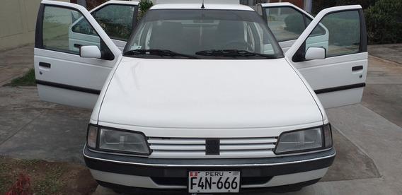 Peugeot 405 Gl/95 Motor 1.6 1994 Blanco 4 Puertas