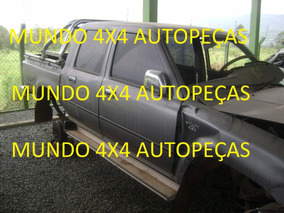 Sucata Da Hilux Sr5 2.8 D. 2000 Com Motor E Cambio E Peça
