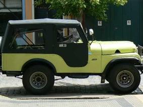 Jeep Ika 1958 Carroceria Original ,4 X 2.