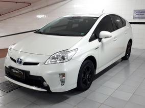 Toyota Prius 1.8 Hybrid 2015 Branco Baixo Km