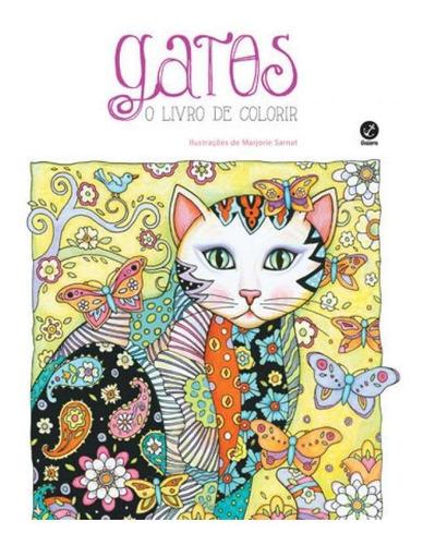Imagem 1 de 1 de Gatos: O Livro De Colorir
