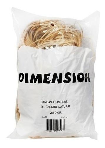 Bandas Elásticas Número 60  X250g Dimension