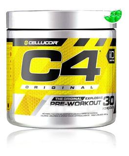 Pre Treino C4 Original 30 Doses - Cellucor - Original C/ Nf