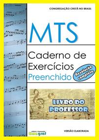 Mts Caderno De Exercicios Preenchido - Livro Do Professor