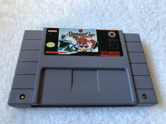 Nhl Stanley Cup (super Nintendo Snes, 1993) - Playtronic