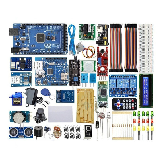 Kit Arduino Master Mega 2560 Ethernet Wifi Automação V. 2020