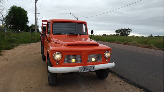 Ford F75 Ano 1974, 4x4, Gasolina Impecavel