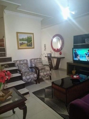 Rudge Ramos - Sobrado 3 Dorms 1 Suite 3 Vagas - V-1633