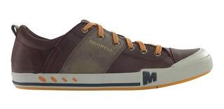 Zapatillas Urbanas De Cuero Hombre Merrell